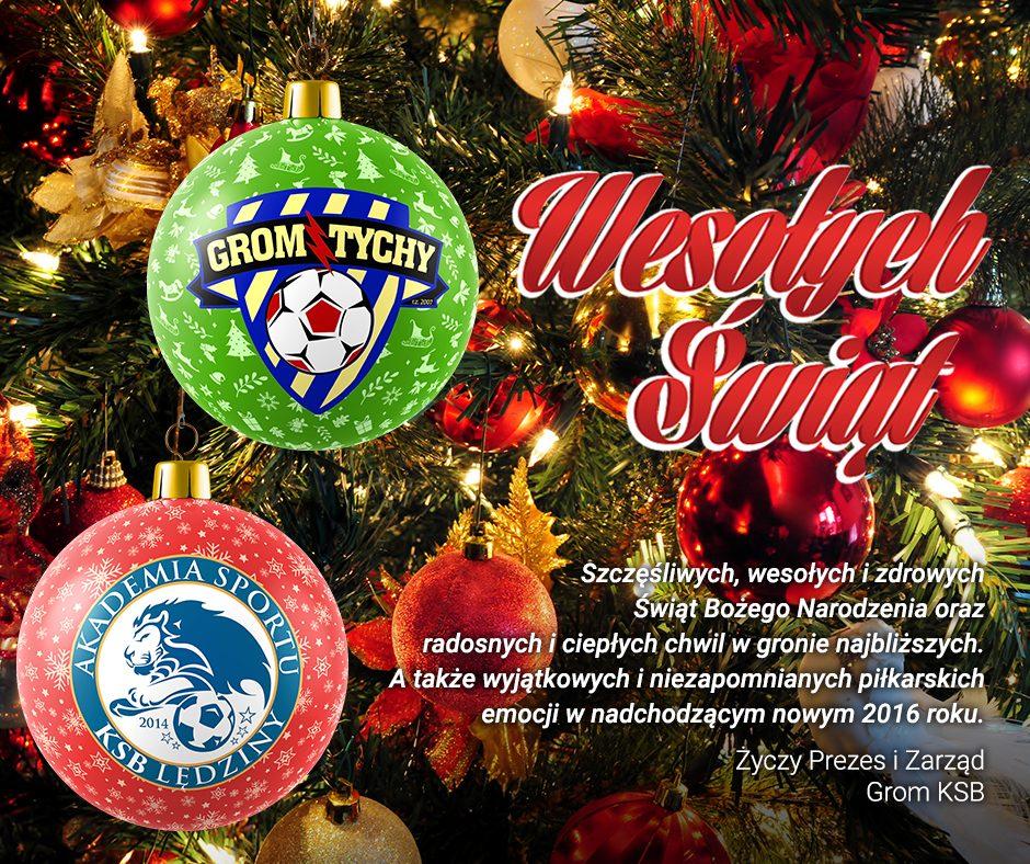 Życzenia świąteczne Zarządu Gromu i KSB